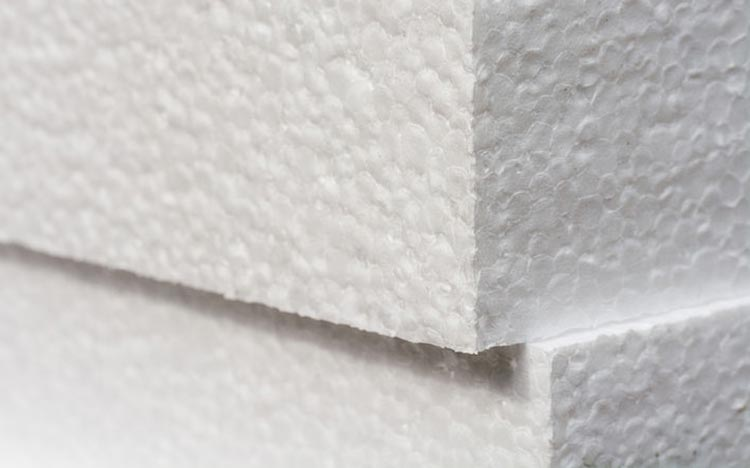 Rigid foam based insulation products